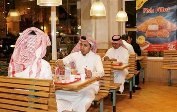 Food consumers in Saudi Arabia