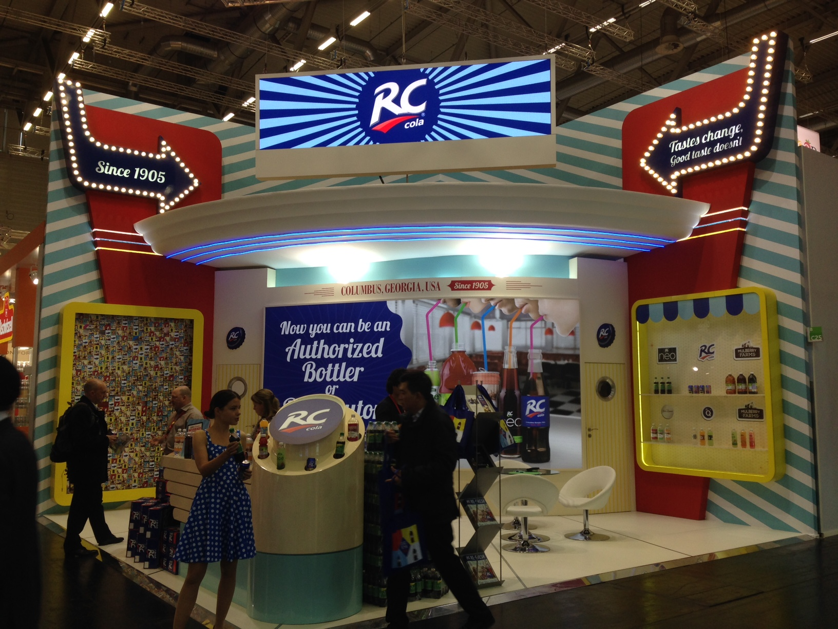 RC Cola at ANUGA 2015